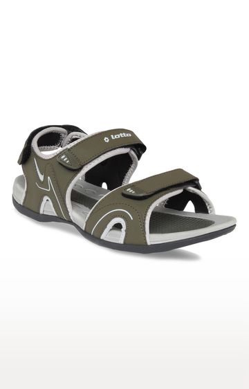 Lotto | Lotto Men's Ranger Olive Sandals