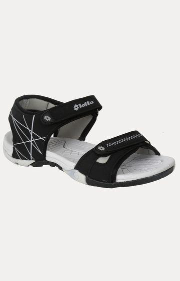 Lotto | Lotto Women's Rigina Black/White/Black Sandals