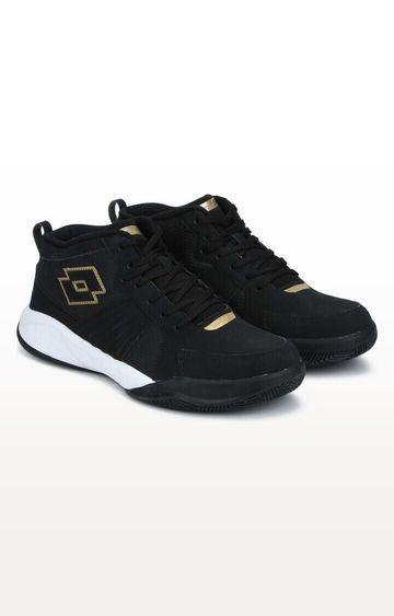 Lotto | Black Basket Field Sports Shoes