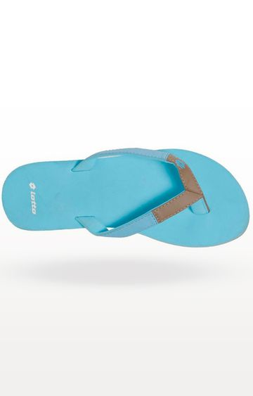 Lotto | Blue Viola Flip Flops