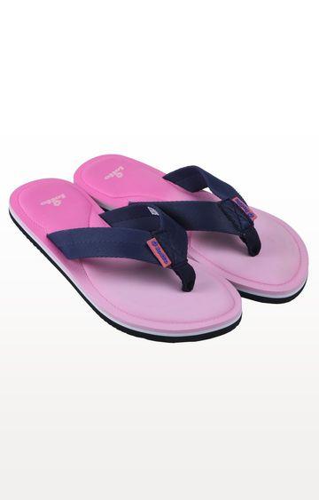 Lotto | Pink and Navy Bianca Flip Flops