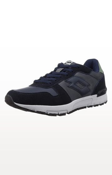 Lotto | Navy and Black Runner Trainers