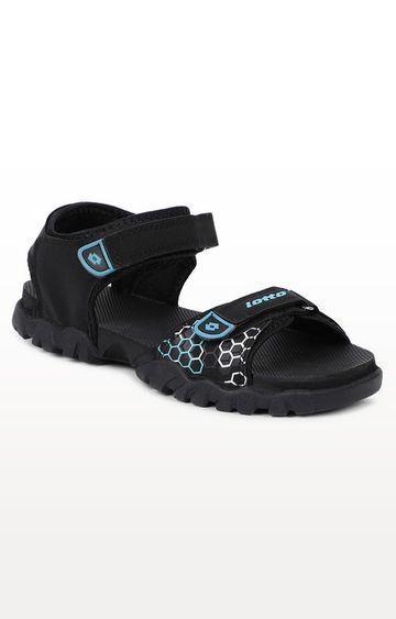 Lotto | Lotto Women's Urbano Black/White/Black Sandals