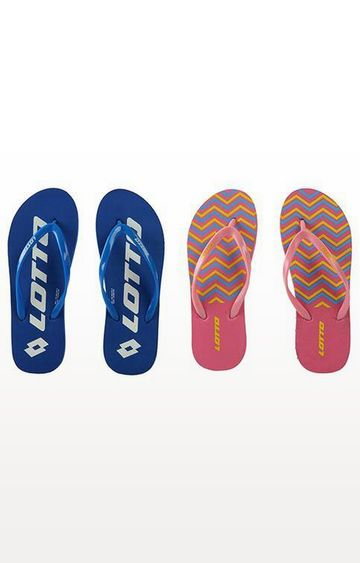 Lotto | Lotto Multicoloured Floppy-Lead Flip Flops - Pack of 2