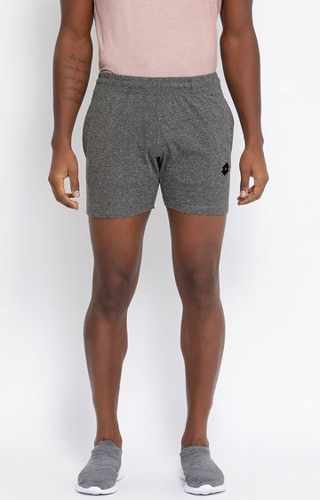 Lotto | Grey Melange Bryan Shorts
