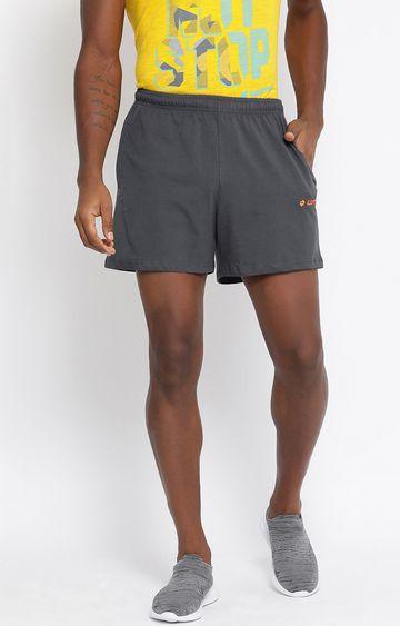 Lotto | Grey Solid L73 Shorts
