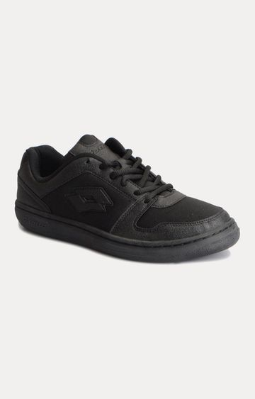 Lotto | Black Casual Lace-up Shoes