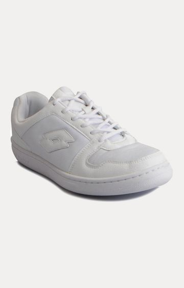 Lotto | White Casual Lace-up Shoes