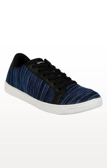 Lotto | Lotto Blue Knitted Sneaker Sneakers