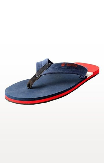 Lotto | Red and Blue Oddo Flip flops