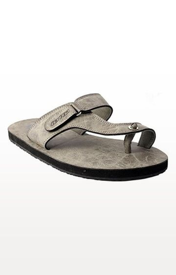 Lotto | Olive and Black Lino Flip flops