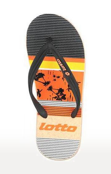 Lotto | Orange Flip Flops