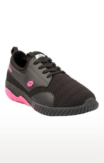 Lotto | Black Olathe Sports Shoes