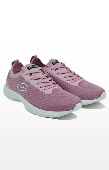 Lotto | Lotto Light Purple and White Running Shoes