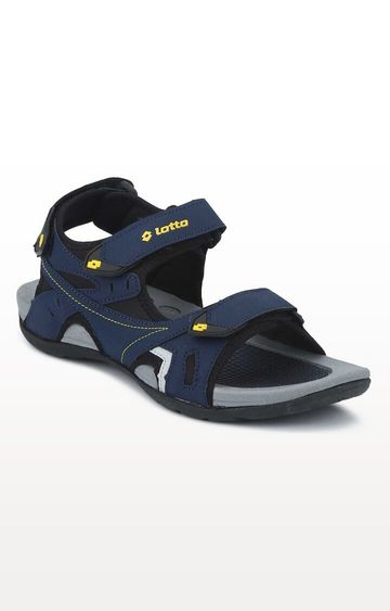 Lotto | Lotto Navy and Yellow Ridge II Floaters