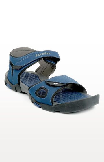 Lotto   Lotto Blue and Black Hiker Floaters
