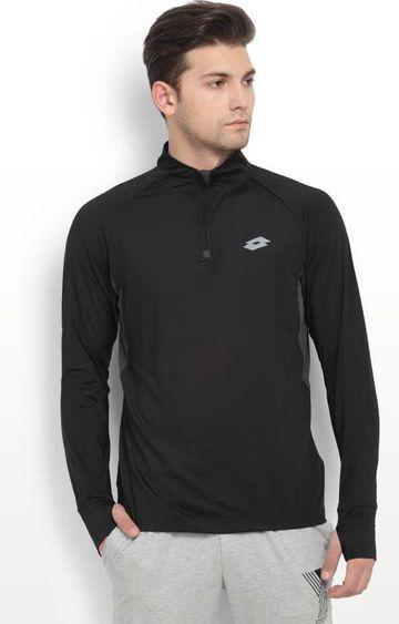 Lotto | Black and Blade Solid Sweatshirt