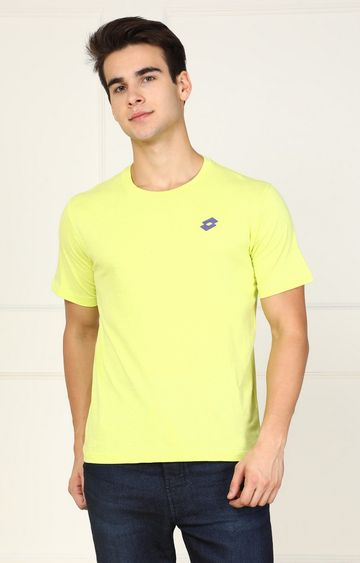 Lotto | Lotto Yellow Solid T-Shirt