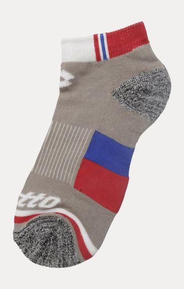 Lotto | Grey Colourblock Socks