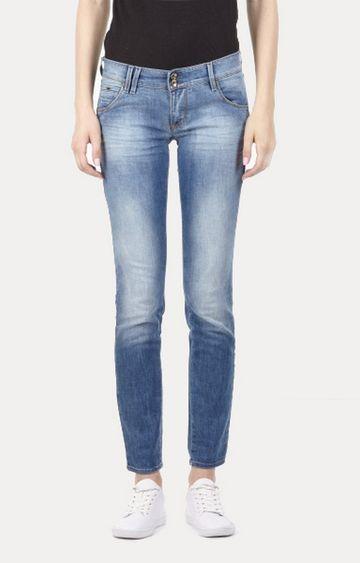 GAS   Women's mid wash Sheyla jeans
