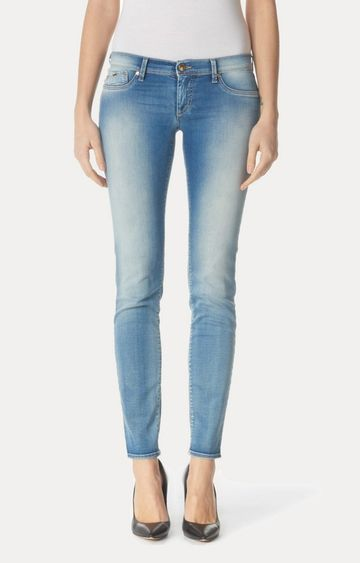GAS | Blue Cropped Jeans