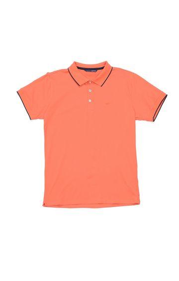 GAS | Ralph/R Solid Orange Polo T-Shirt
