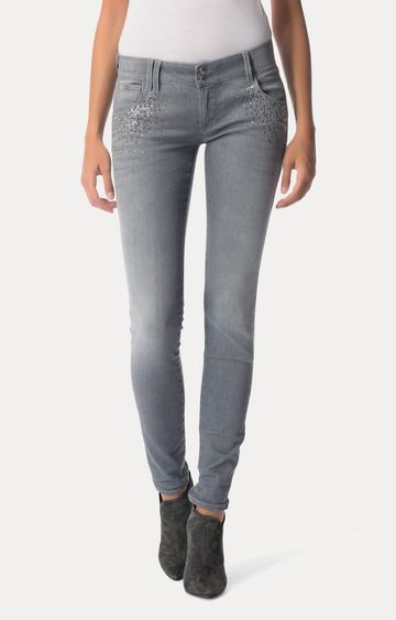 GAS | Grey Straight Jeans
