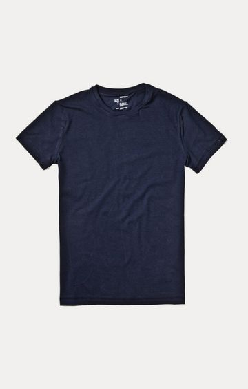 GAS | Blue Solid T-Shirt