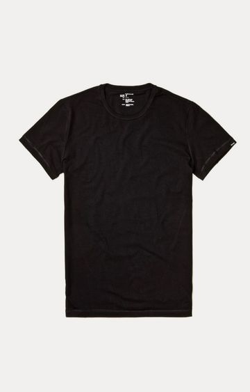 GAS | Black Solid T-Shirt