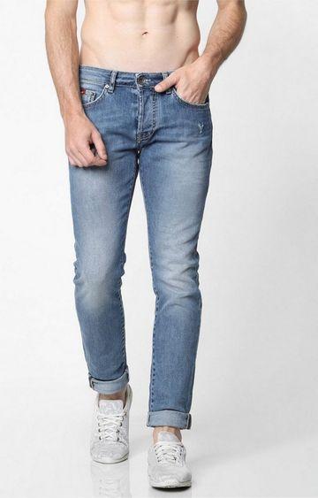 GAS | Men's Norton Carrot Fit Blue Jeans