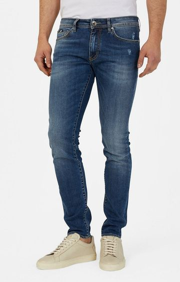 GAS | Men's Blue Skinny Fit Jeans