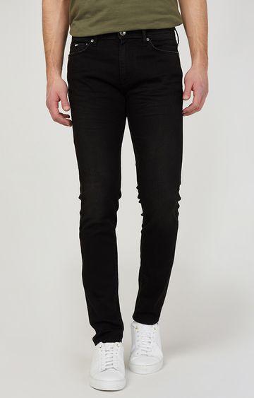 GAS | Men'sSax Zip Black Skinny Fit Jeans