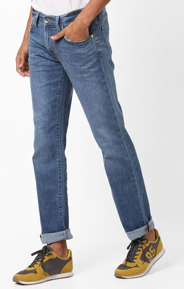 GAS | Men's Basic Morris Straight Fit Washed Jeans