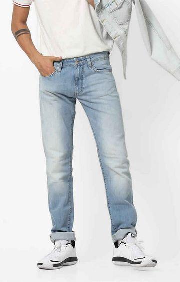 GAS | Men's Basic Morris Mid-Washed Jeans