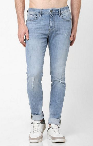 GAS | Lightly Washed Skinny Jeans