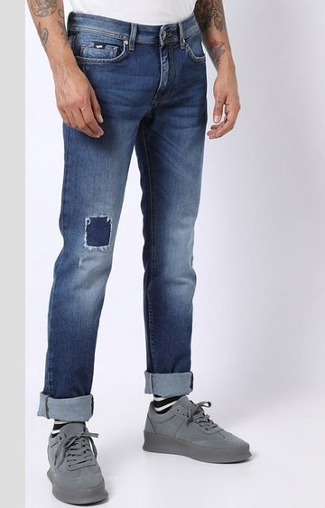GAS | Albert Simple Distressed Slim Fit Jeans