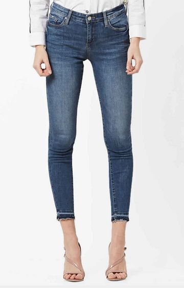 GAS | Women's Star mid wash skinny fit jeans