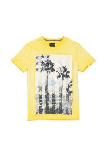 GAS | Sagar Graphic Print Slim Fit T-shirt
