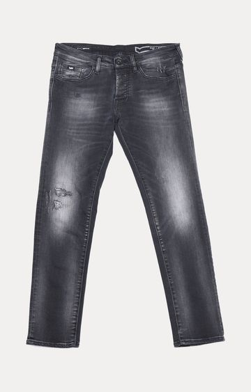 GAS | Anders Slim Fit Washed Grey Jeans