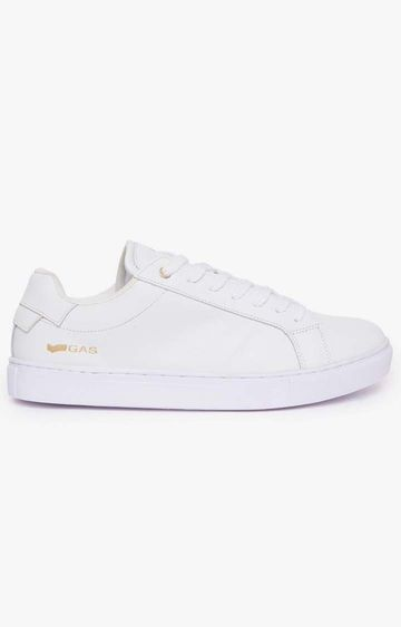 GAS | White DNA LTH Sneakers