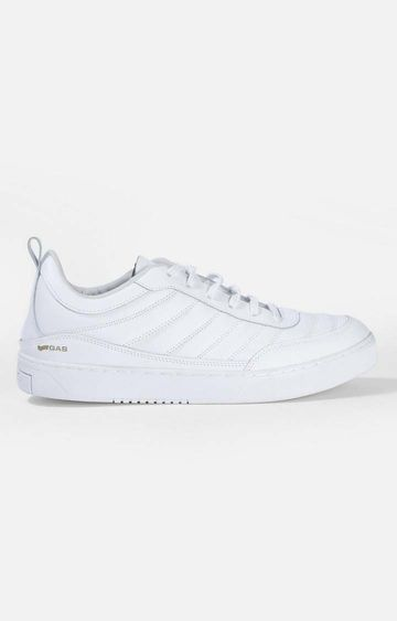 GAS | White Elvis LTH Sneakers
