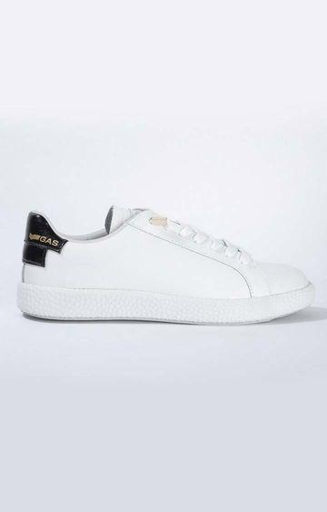 GAS | White 365 Motion Tecno Sneakers