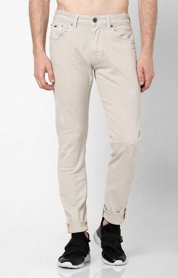 GAS | Men's Norton Carrot Fit Cream Jeans