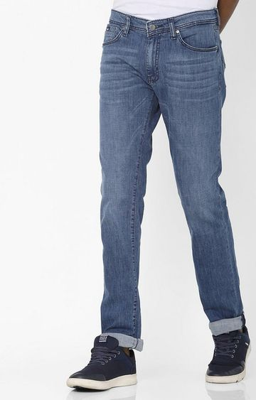 GAS | Albert Taylor Slim Fit Blue Washed Jeans