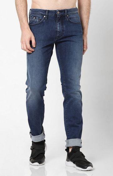 GAS | Men's Morris Taylor Washed Blue Jeans