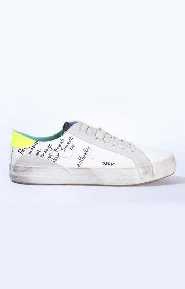 GAS | White Alvin LTX Sneakers