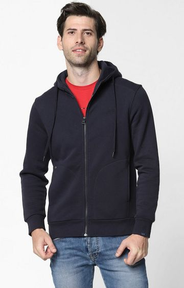 GAS | Svens Zip-Front Hooded Sweatshirt with Slip Pockets