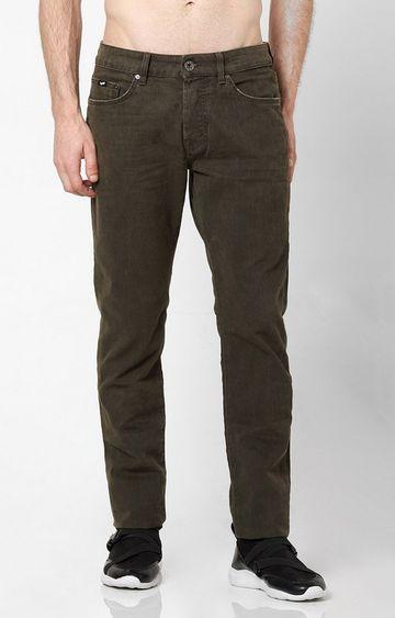 GAS | Men's Norton Carrot Fit Olive Jeans