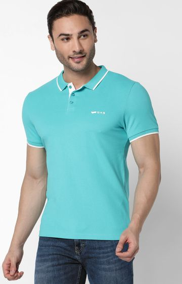 GAS | Ralph Solid Marmaide Polo T-Shirt