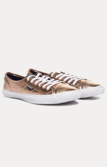 Superdry | Gold Sneakers